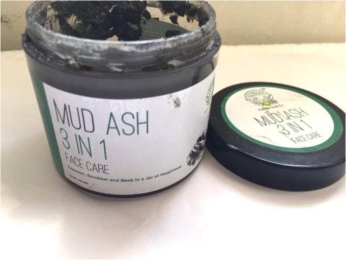 Greenberry Organics Mud Ash 3 In 1 Cleanser, Scrub Mask Review