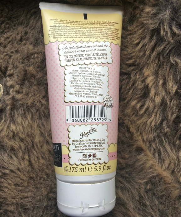 Patisserie de Bain Shower Gel Crème Patissiere Review Details