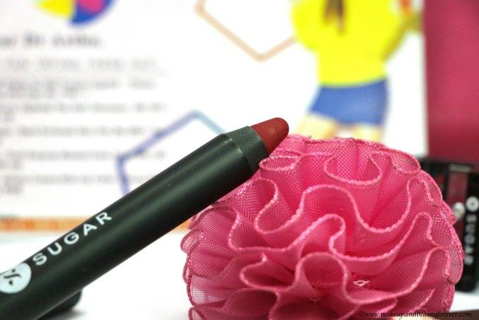 Sugar Matte as Hell Crayon Lipstick Cherry Darling MBF Blog