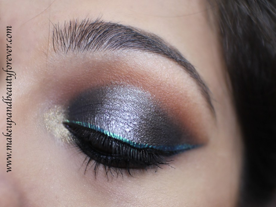 Victoria Note Eyeshadow Palette Review, Swatches, EOTD MBF Blog Eye Makeup Look
