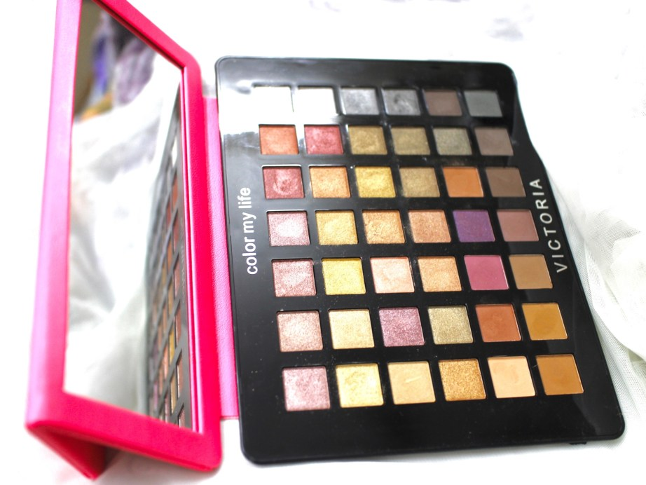 Victoria Note Eyeshadow Palette Review, Swatches, EOTD MBF Blog