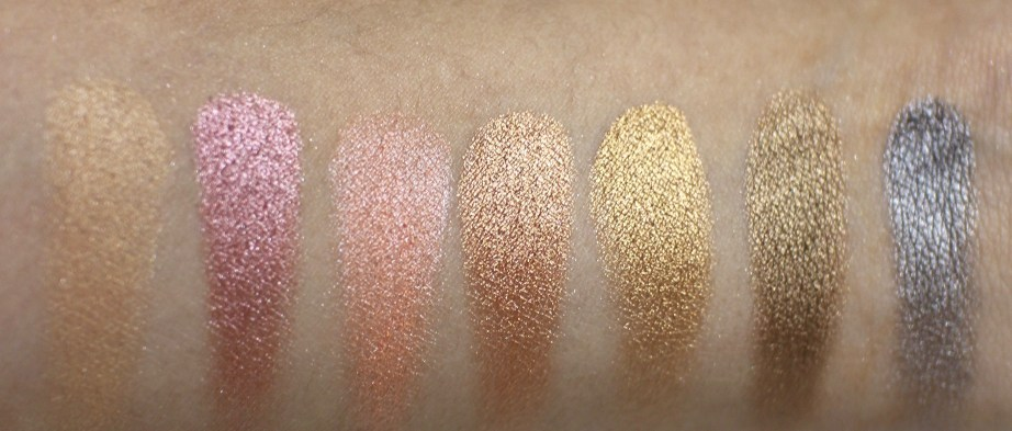 Victoria Note Eyeshadow Palette Review, Swatches, EOTD row 2