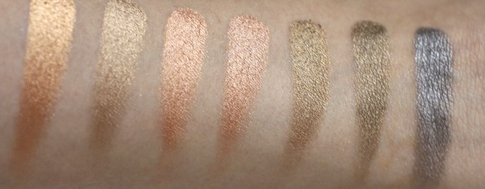 Victoria Note Eyeshadow Palette Review, Swatches, EOTD row 4