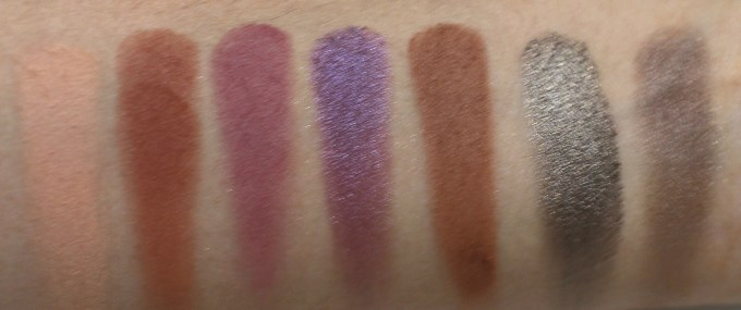 Victoria Note Eyeshadow Palette Review, Swatches, EOTD row 5