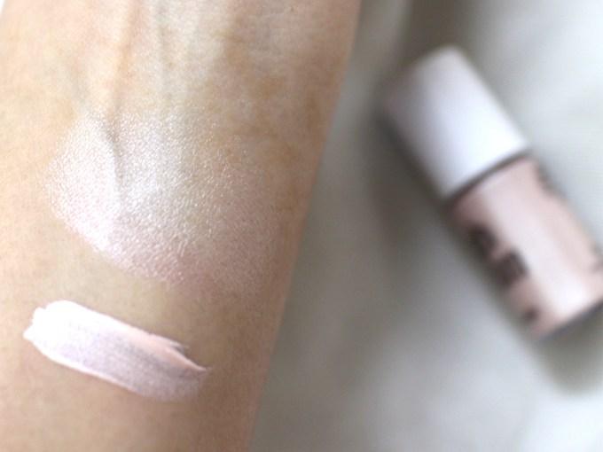 Benefit High Beam Liquid Face Highlighter Swatches
