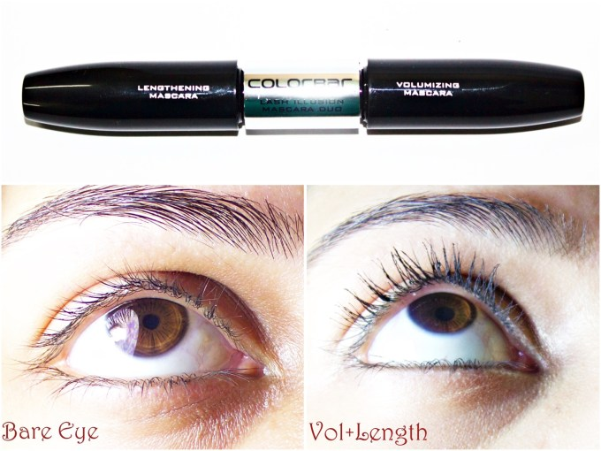 Colorbar Lash Illusion Duo Mascara Review, Swatches, Demo Blog MBF