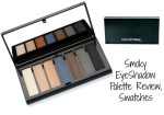 Colorbar Smokey Eyeshadow Palette Review, Swatches