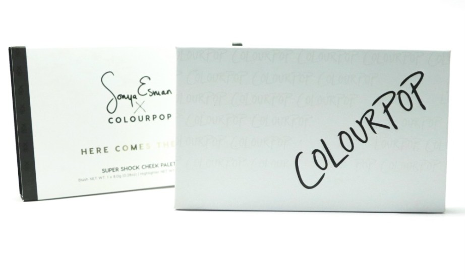 ColourPop Sonya Esman Here Comes the Sun Super Shock Cheek Palette Review MBF
