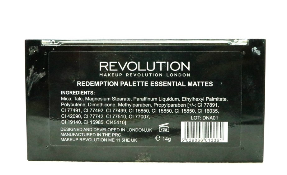 Makeup Revolution Essential Mattes Redemption Eyeshadow Palette Review, Swatches Info
