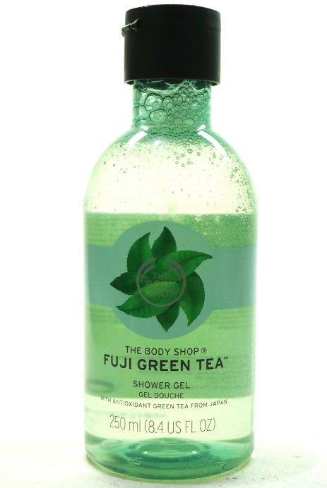 The Body Shop Fuji Green Tea Shower Gel Review