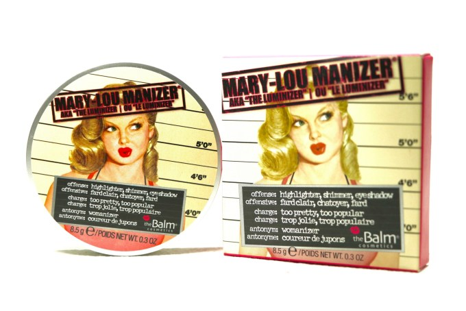 theBalm Mary Lou Manizer Review, Swatches