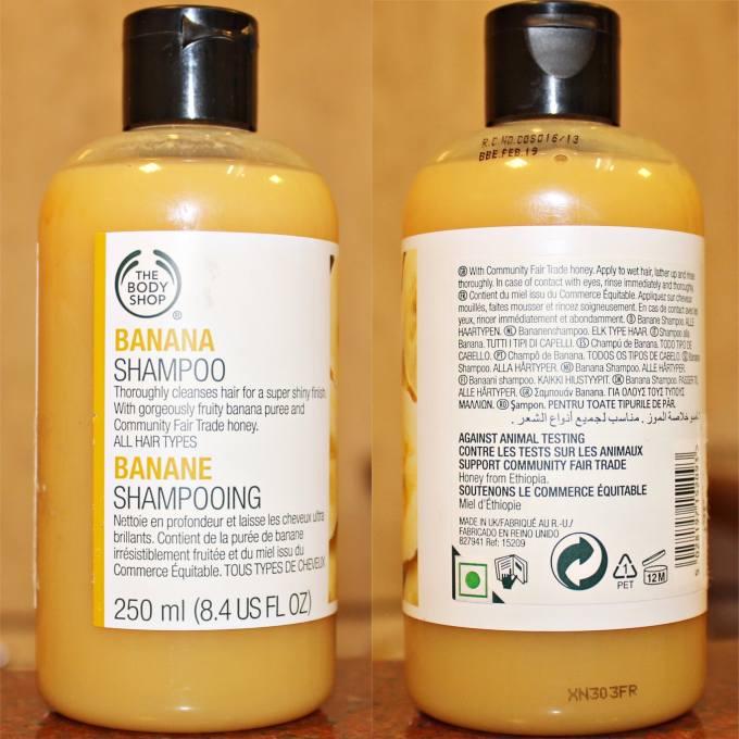 The Body Shop Banana Shampoo Review MBF Blog