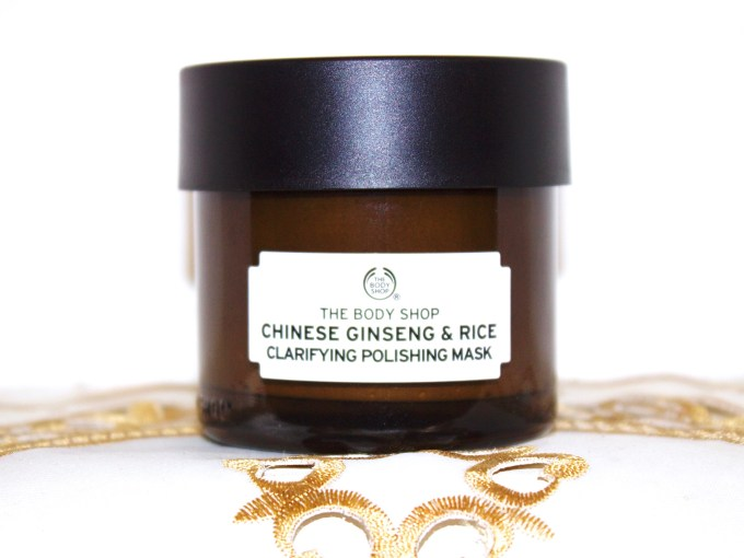 The Body Shop Chinese Ginseng & Rice Clarifying Polishing Mask Review