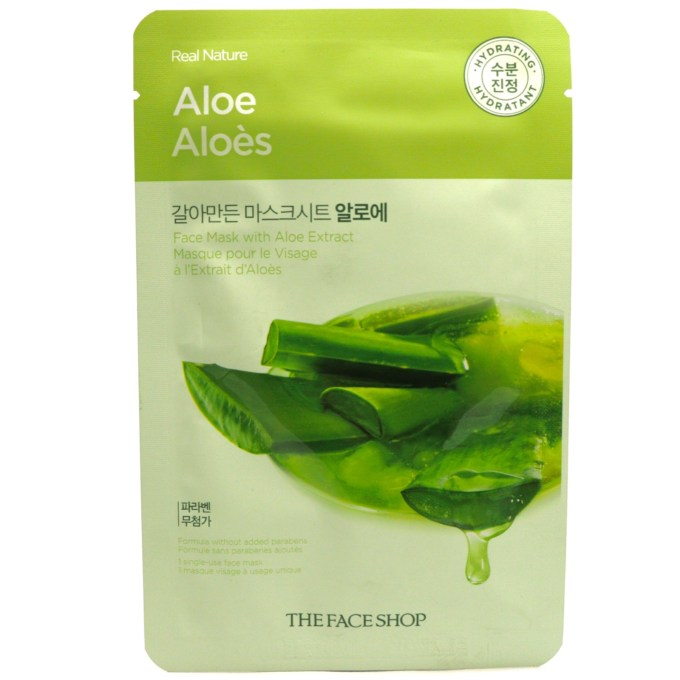 The Face Shop Real Nature Aloe Face Mask Review MBF