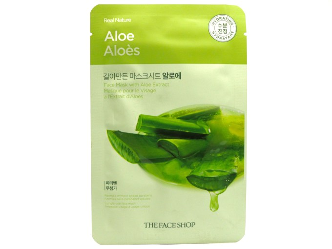 The Face Shop Real Nature Aloe Face Mask Review