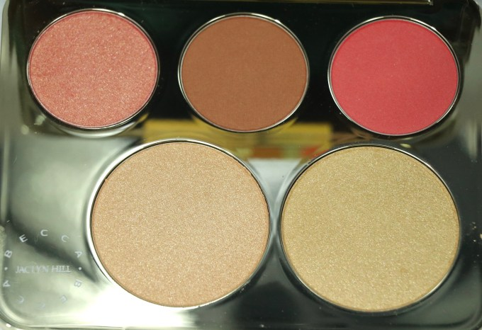 Becca Jaclyn Hill Champagne Collection Face Palette Review, Swatches MBF Blog