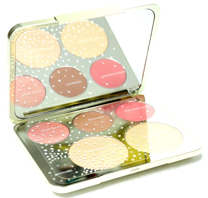 Becca Jaclyn Hill Champagne Collection Face Palette Review, Swatches MBF