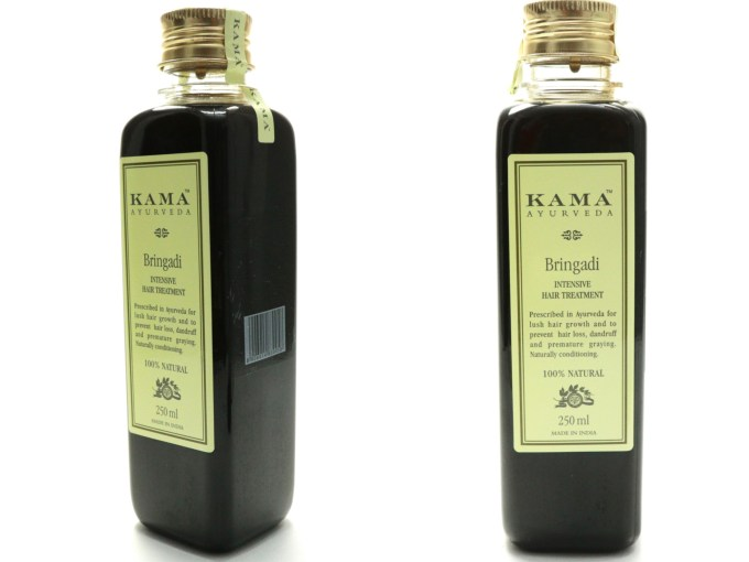Kama Ayurveda Bringadi Intensive Hair Treatment Oil Review MBF Blog