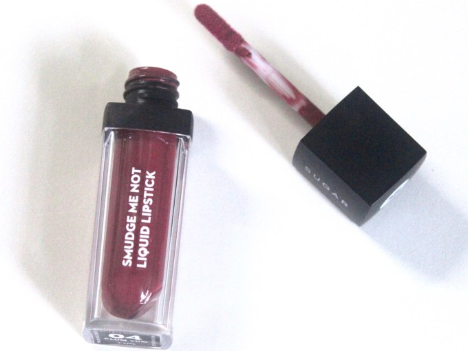 Sugar Smudge Me Not Liquid Lipstick Plum Yum Review, Swatches