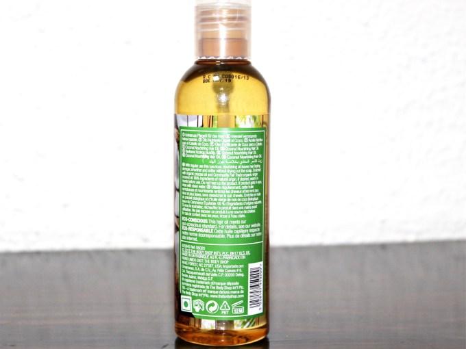 The Body Shop Rainforest Coconut Hair Oil Review Details