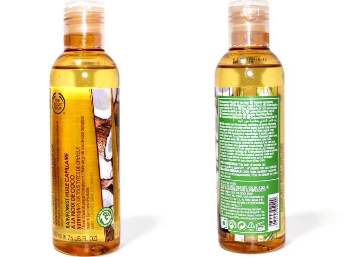 The Body Shop Rainforest Coconut Hair Oil Review MBF Blog
