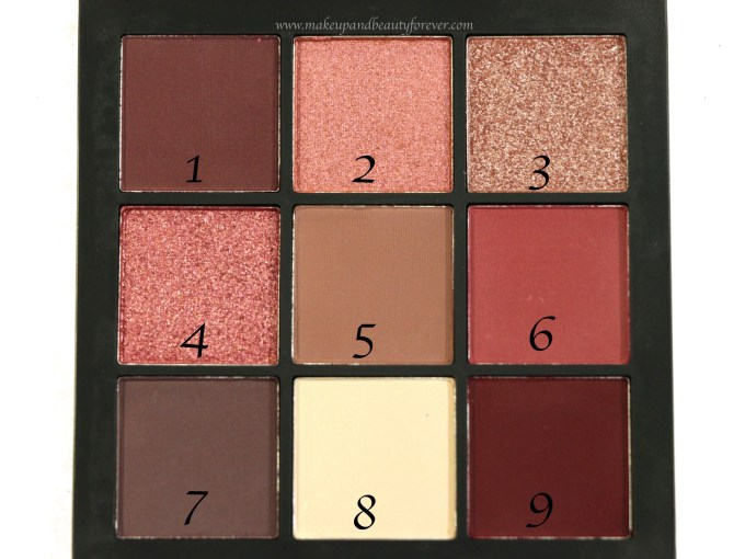 Huda Beauty Mauve Obsessions Eyeshadow Palette Review, Swatches Focus HD MBF Blog