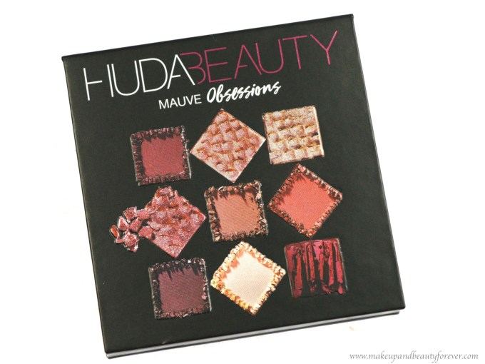 Huda Beauty Mauve Obsessions Eyeshadow Palette Review, Swatches