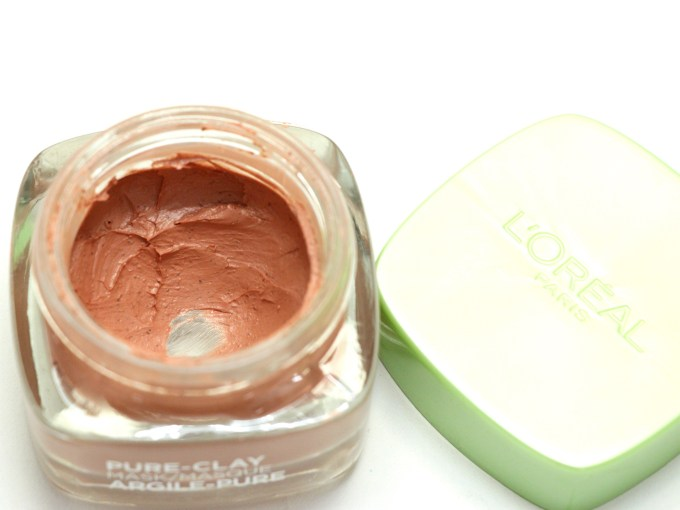 L'Oreal Exfoliate & Refine Pores Clay Mask Review, Swatches MBF Blog