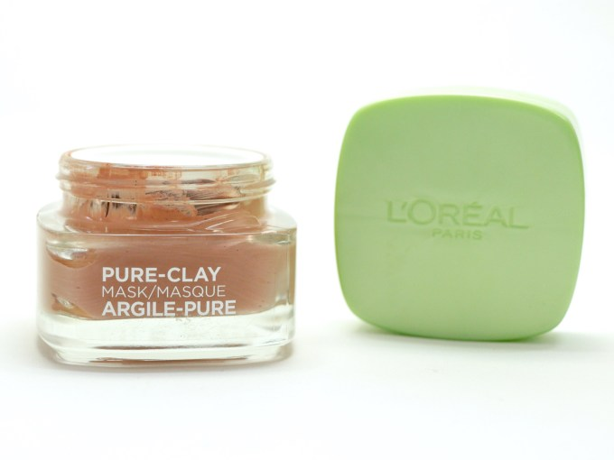 L'Oreal Exfoliate & Refine Pores Clay Mask Review, Swatches MBF