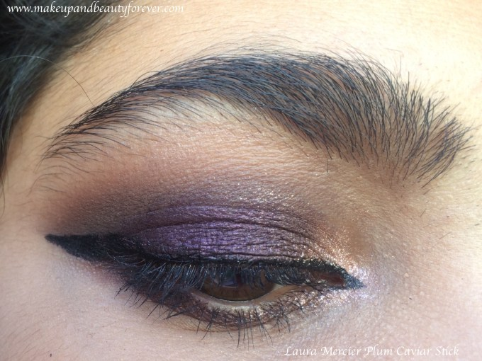 Laura Mercier Caviar Stick Eye Colour Plum Review, Swatches Blog MBF Eye Makeup
