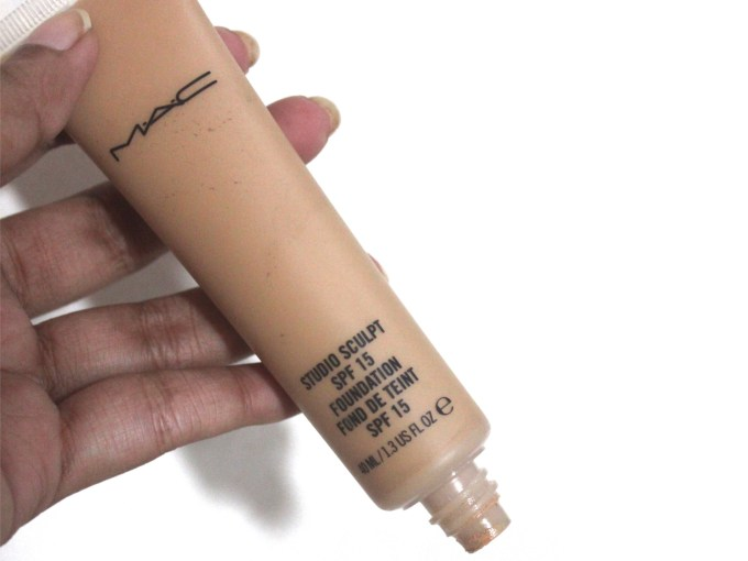 MAC Studio Sculpt Foundation SPF 15 Review, Swatches MBF Blog