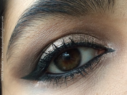NARS Himalia Dual Intensity Eyeshadow Review, Swatches MBF Makeup Look