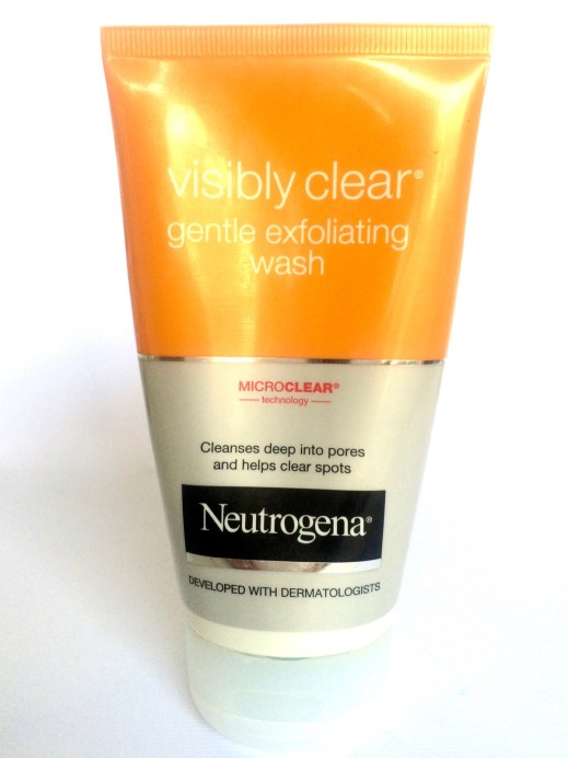 Neutrogena Visibly Clear Gentle Exfoliating Wash Review Honest
