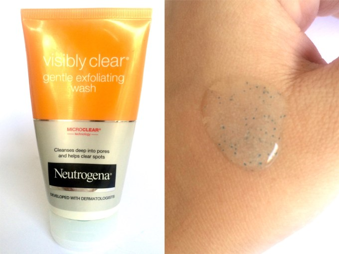 Neutrogena Visibly Clear Gentle Exfoliating Wash Review MBF Blog