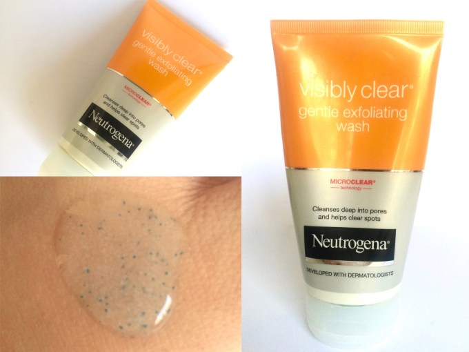 Neutrogena Visibly Clear Gentle Exfoliating Wash Review