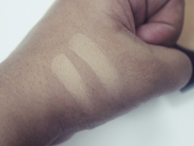 PAC Studio Finish Compact Powder Review, Shades, Swatches skin