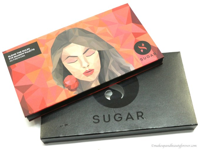 Sugar Blend The Rules Eyeshadow Palette Firework 02 Review, Swatches MBF