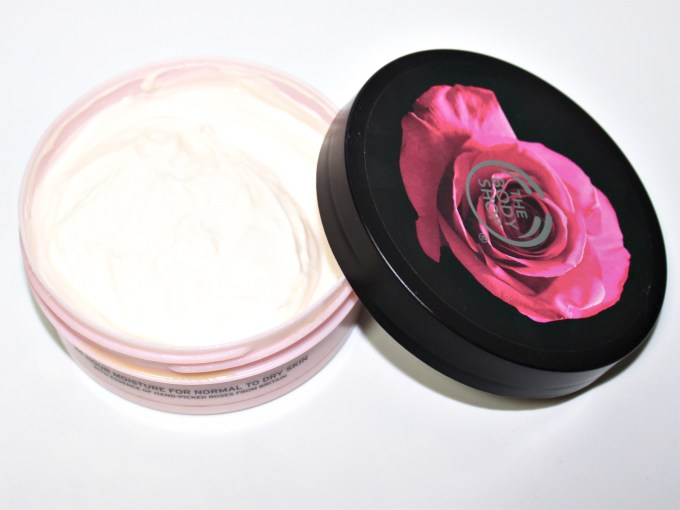The Body Shop British Rose Instant Glow Body Butter Review Focus