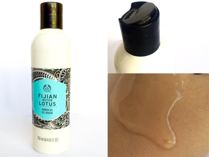 The Body Shop Fijian Water Lotus Shower Gel Review MBF Blog