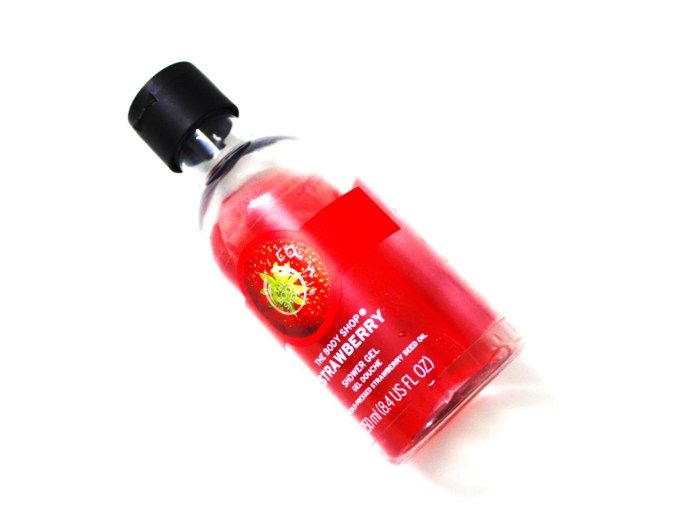 The Body Shop Strawberry Shower Gel Review MBF