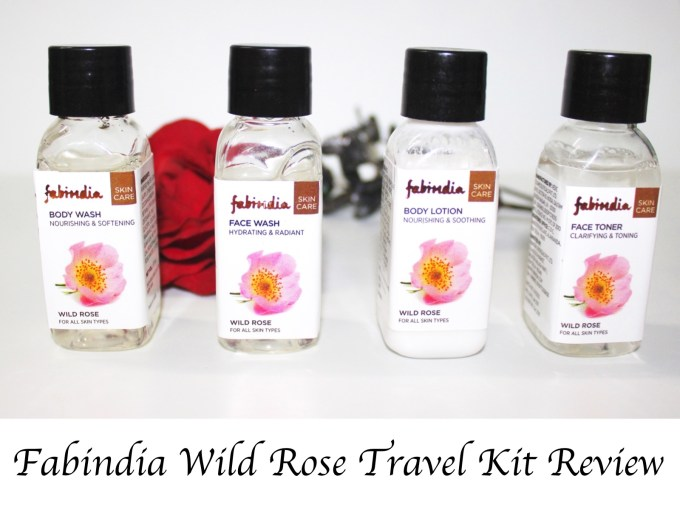 Fabindia Wild Rose Travel Kit Review