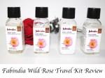 Fabindia Wild Rose Travel Kit Review