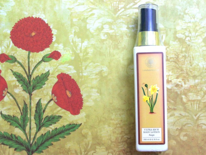 Forest Essentials Ultra Rich Body Lotion Nargis Review MBF