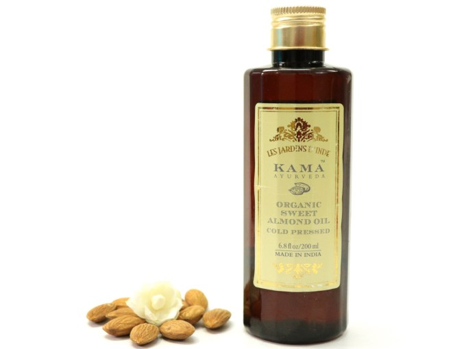 Kama Ayurveda Organic Sweet Almond Oil Review
