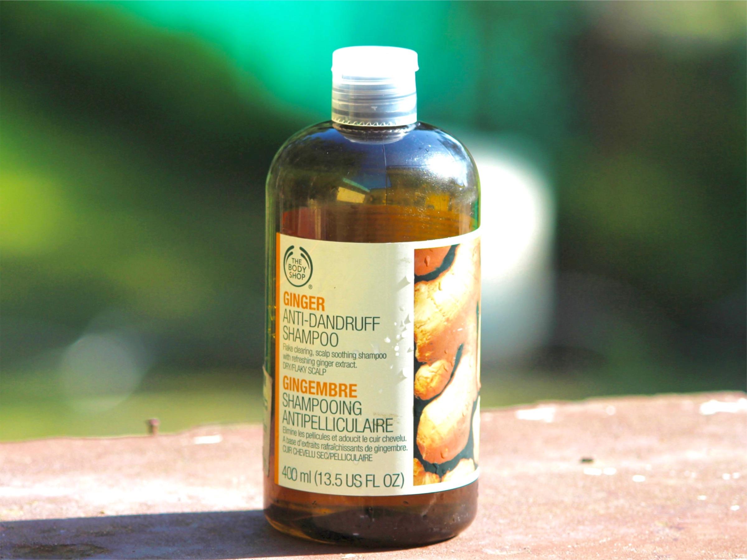 584af745e5f The Body Shop Ginger Anti Dandruff Shampoo Review