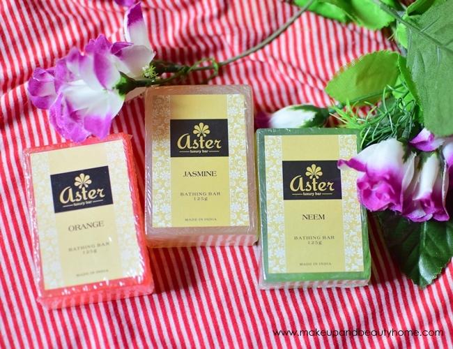 aster handmade luxury soaps neem orange jasmine review