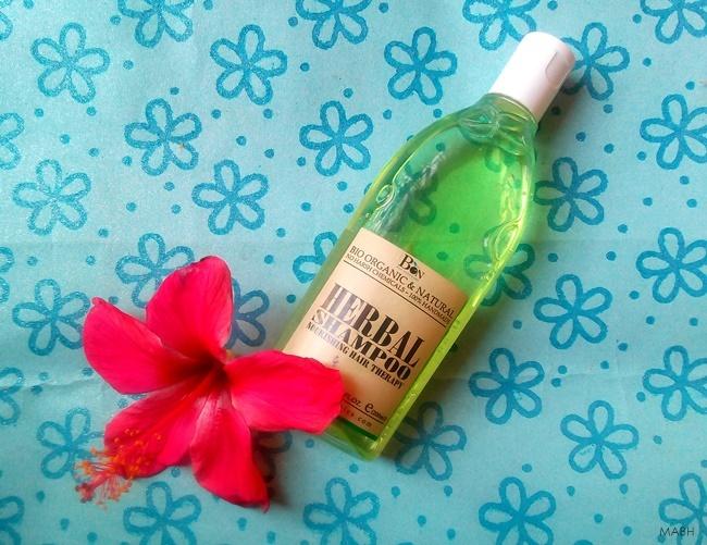 bon organics herbal shampoo
