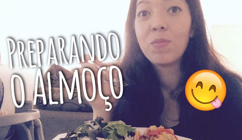 Vlog Preparando o Almoço + Receita + Bate Papo Vegetarianismo e Blog