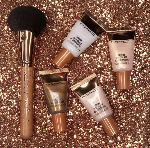 MAC Strobe Face Glaze | 4 NEW Glowing, Glossy Glassy Highlighters