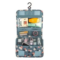 Toiletry Bag, DINIWELL Travel Hanging Toiletry Organizer Cosmetic Bag For Women (Lake Blue)